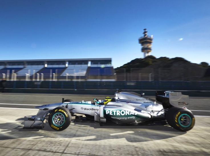 How do you like the new BlackBerry...eh, Mercedes?  http://grandprix20.com/2013/02/04/here-is-the-new-mercedes-w04/  #F1 #mercedes #blackberry