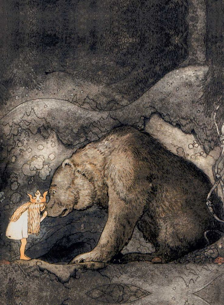 I may already have this one - but so precious - worth re-pinning!!! ~ ~ ~John Bauer - Bella (1)