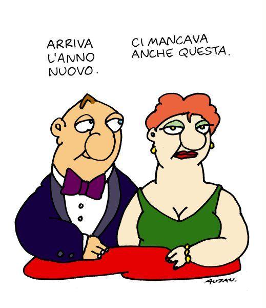 Alcune vignette di Altan del 2009