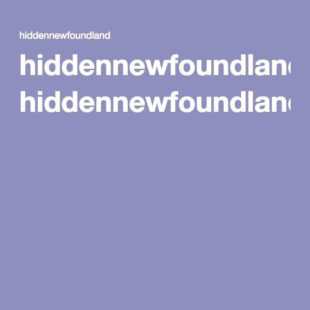 hiddennewfoundland