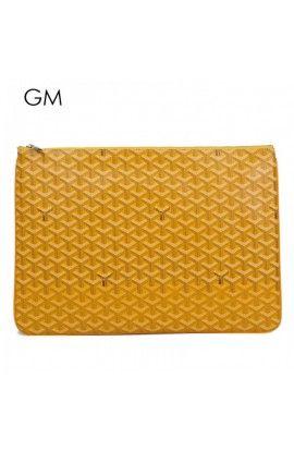 Goyard Clutch Bag GM Yellow