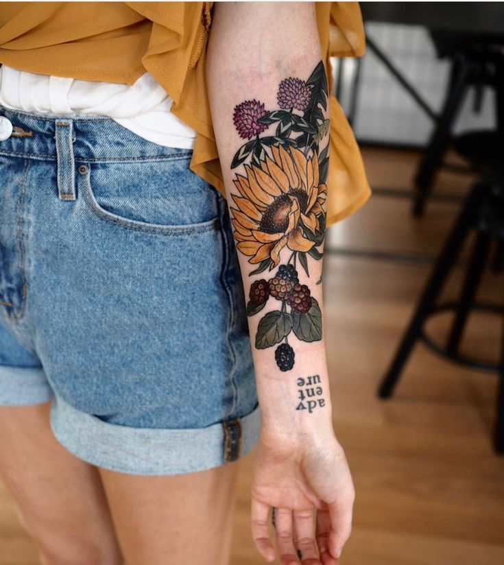 Amazing 32 Most Beautiful Sunflower Tattoo Ideas Just for You upoutfit.com