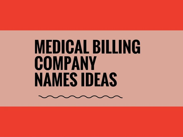 While your business may be extremely professional and important, choosing a creative company name can attract more attention.A Creative name is the most important thing of marketing. Check here creative, best Medical Billing Company names ideas for your inspiration.