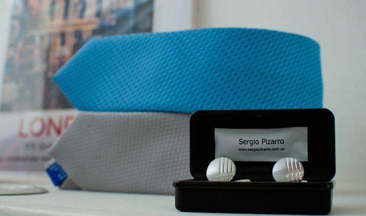 Mancornas y corbatas Delgadas www.sergiopizarro.com.co