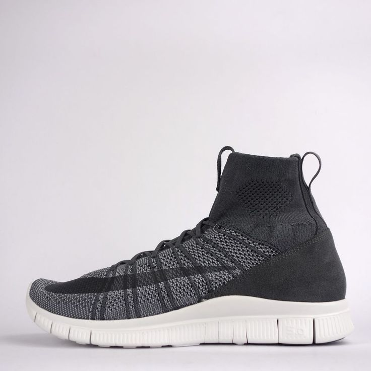 Nike Free 5.0 Flyknit Mercurial Superfly Mens Football Trainers Shoes 2016 Grey #Nike