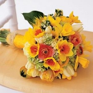 Image detail for -Tags: daffodil wedding bouquet , daffodil wedding bouquets , spring ...