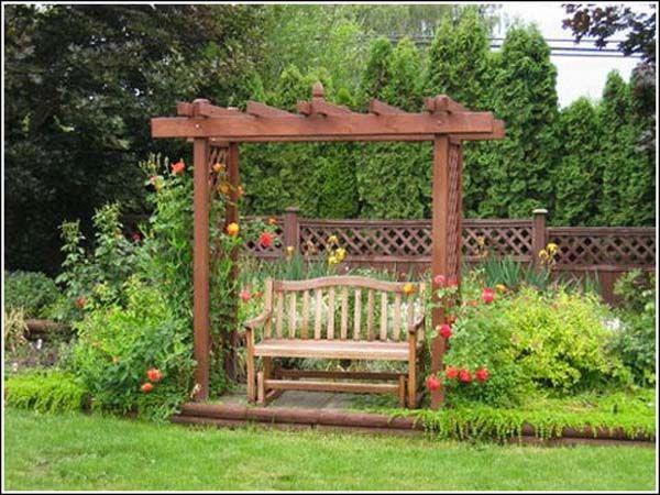 Landscape Design Ideas U2013 Garden Arbors, Pergolas, Fences U0026 Sheds