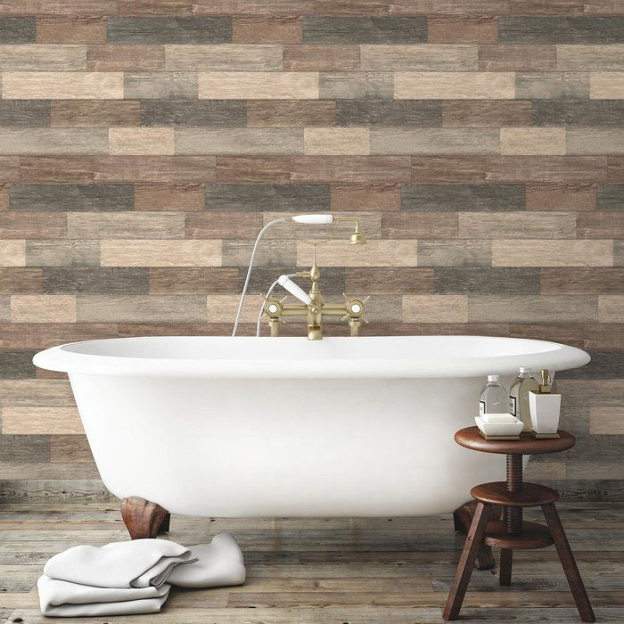 Chronister Coastal Weathered Plank 16 5 L X 20 5 W Wood And Shiplap Peel And Stick Wallpaper Roll Wood Planks Weathered Wood Peel And Stick Wallpaper