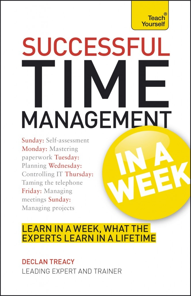 Successful time management in a week