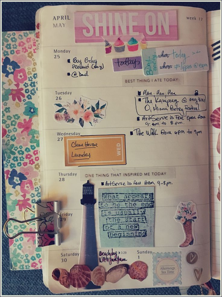 Last week of April.   #planning #planneradditcs #moleskine #bunnydori