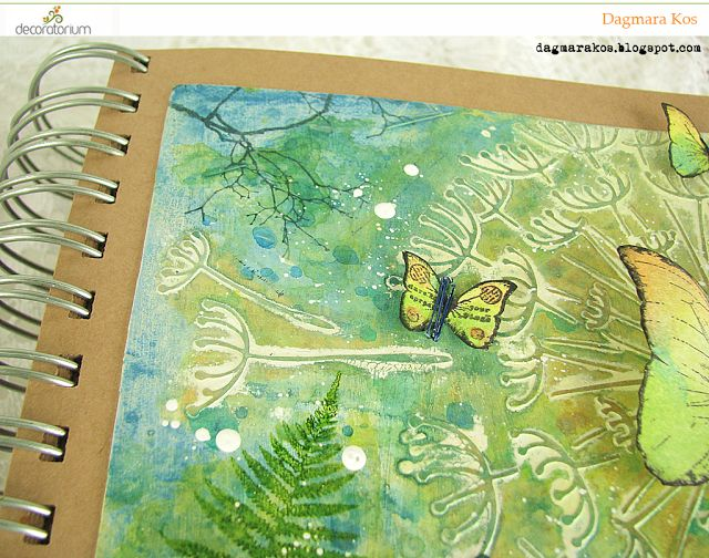 decoratorium: Inspiracja Dagmary - Magiczny Art Journal
