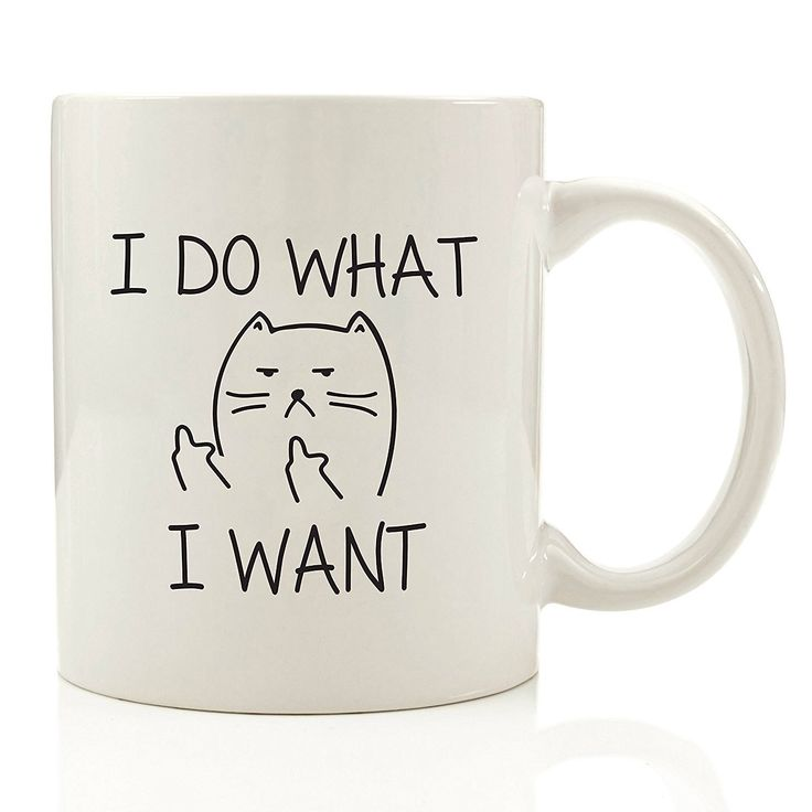 ?Do What I Want Cat Funny Coffee Mug - Unique Christmas Present Idea for Men and Women, Him or Her - Best Office Cup and Birthday Gag Gift for Coworkers, Mum, Dad, Kids, Son, Daughter, Husband or Wife *** Quickly view this special deal, click the image : Free Home and Kitchen