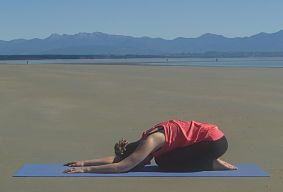 Utthita Balasana- Extended Pose of the Child