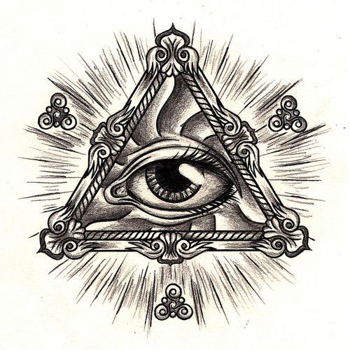 Eye With Triangle Tattoo: Tattoo Inspirationsss