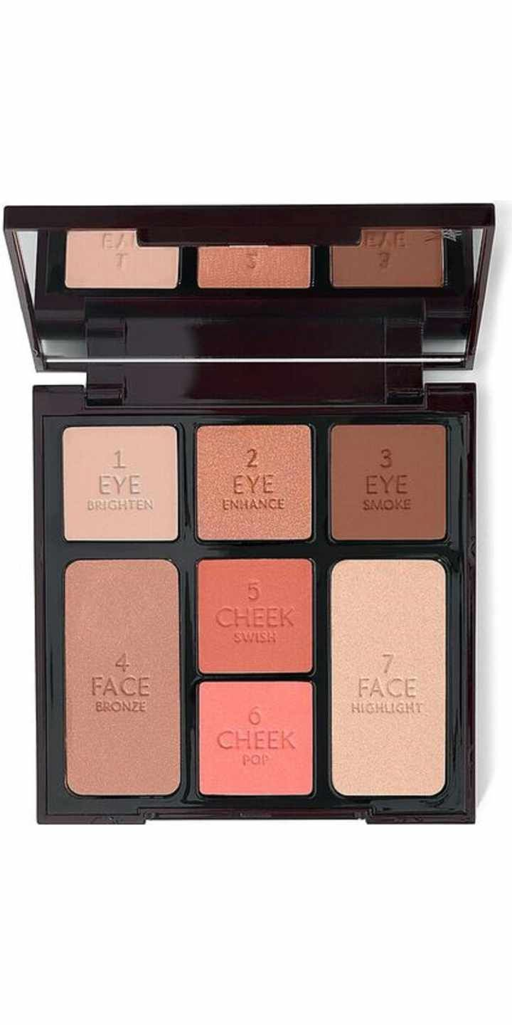 Free shipping and returns on Charlotte Tilbury Instant Look in a Palette Beauty Glow at Nordstrom.com. What it is: This limited-edition Beauty Glow palette creates the most magical version of you, giving you bronzed, beautiful, fresh and radiant skin.Palette includes:- Eye Brighten: a youthful brightening eyeshadow in a color-correcting champagne pink hue to prime the surface of your eyelids for an all-day application.- Eye Enhance: a hue that adds dreamy dimension to your eyelids in a…