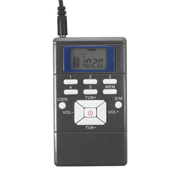 Mini Frequency Modulation Radio Digital Signal Processing Portable Receiver