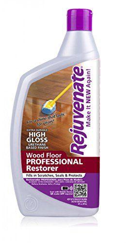 Rejuvenate RJ32PROFG Professional High Gloss Wood Floor Restorer, 32-Ounce Rejuvenate