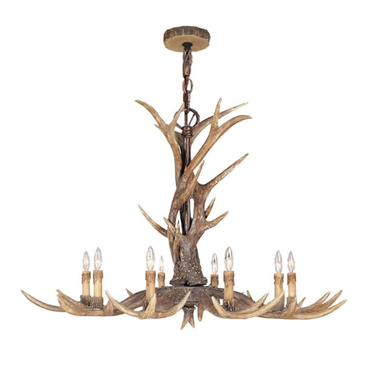 26 best resin antler chandelier images on pinterest chandelier rustic resin deer horn antler chandelier8 candle lights mozeypictures Image collections