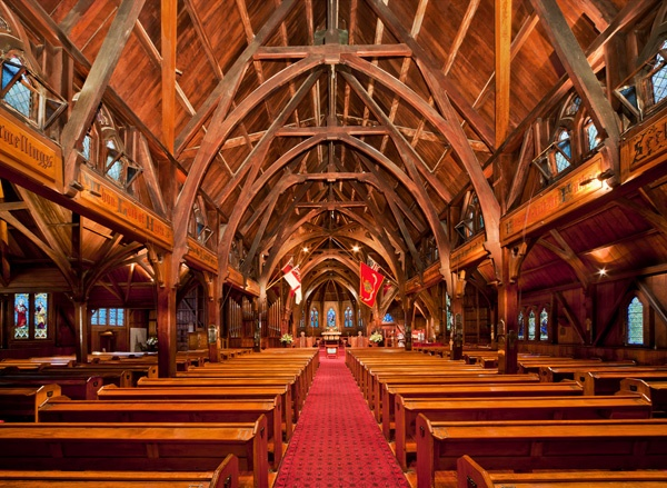 Old St Paul's, Thorndon, Wellington. Wedding ceremony venue.  NZD $950.00 plus GST (1.5 hours, additional NZD 250 for extra hour)  Ceremony and drinks/afternoon tea only.
