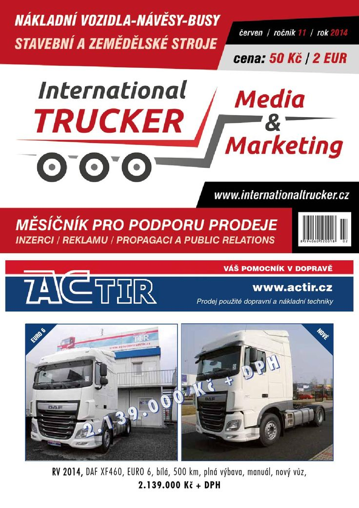 Český Trucker červen 2014  Český Trucker - červen 2014