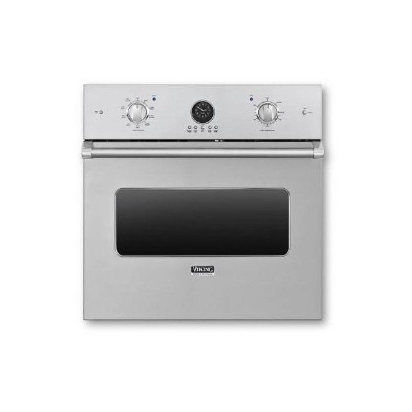Viking VESO5302 30 Inch Wide 4.1 Cu. Ft. Single Electric Oven with (5,725 CAD) ❤ liked on Polyvore featuring home, home improvement, household appliances, electric, ovens, single and stainless steel