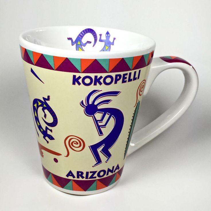 Kokopelli Arizona Southwest Large Ceramic Coffee Mug
