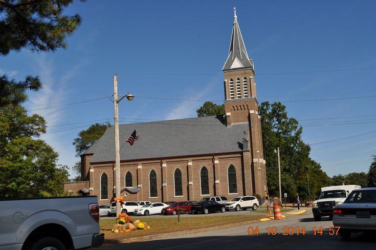 https://flic.kr/p/pfpwYE   Church in St Florian   2014 October 4 -Oktoberfest St Florian, Al