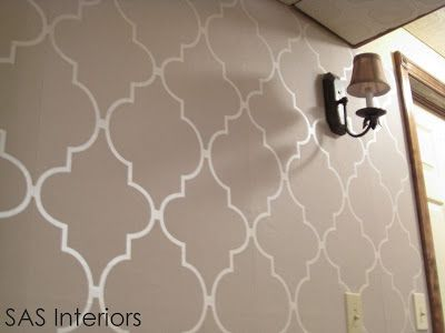 Do It Yourself tutorial on how to install wallpaper. Step by Step instructions.