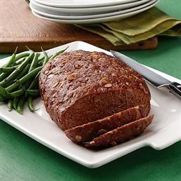 Classic Meatloaf - Recipe | Quakeroats.com Use ground turkey for a healthier version.