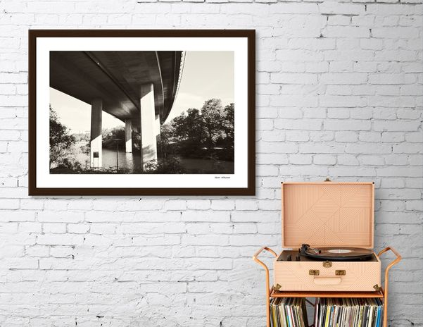 Discover «Bridge 97», Exclusive Edition Fine Art Print by Henri Hiltunen - From $25 - Curioos