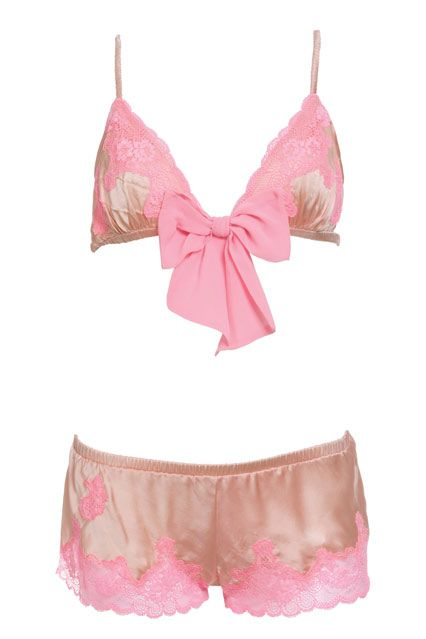 Victoria's Secret Babydoll Bra & Shorts - Best Lingerie Buys for 2013 (EasyLiving.co.uk)