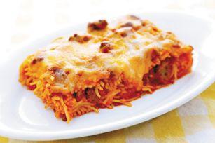 Baked Spaghetti a la PHILLY recipe