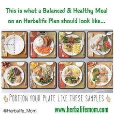 25+ ide terbaik Herbalife meal plan di Pinterest