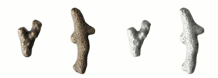 JIK handles & pulls  Coral  design: kazuyo komoda
