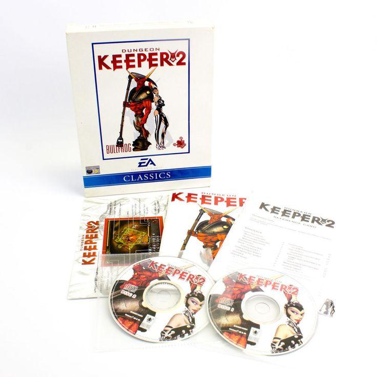 Dungeon Keeper 2 for PC by Bullfrog, 1999, Big Box, VGC, CIB, VTG