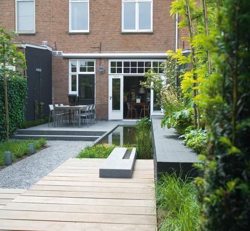 Contemporary Urban Garden by PUUR Architectuur