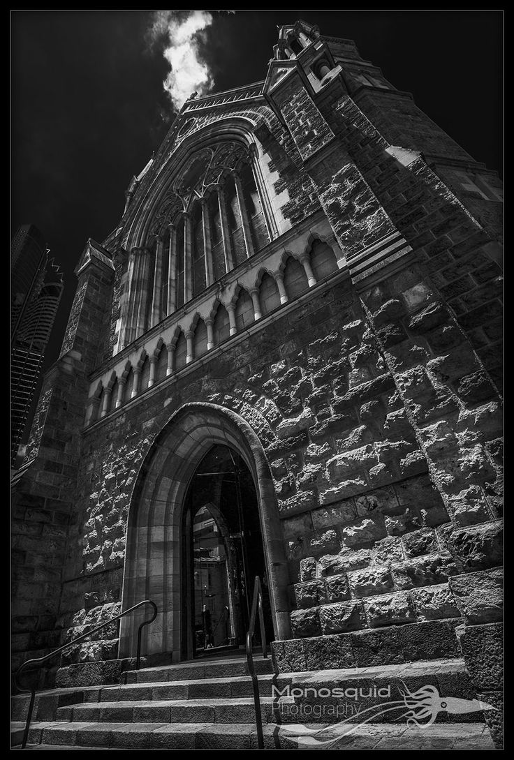 Street photography of St Stephen Cathedral, Brisbane - (c) Copyright Monosquid 2013, All rights reserved. Come join our facebook page where you can receive freebies, get tips and tutorials on photography and join in on a fun and positive photography community.  https://www.facebook.com/monosquidphotography