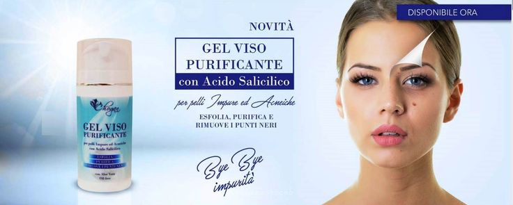 Gel Viso Purificante Chogan cod.GEL01