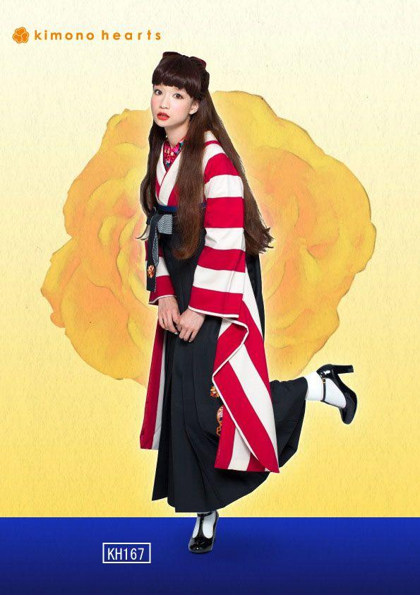 キモノハーツの袴collection♪ | キモノハーツが提案する、最新トレンドを取り入れた、きものコーデ&スタイリング情報をお届けします。