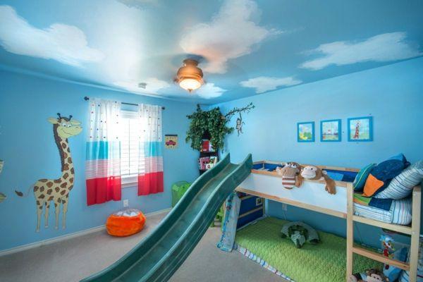 farbideen wohnzimmer türkis kinderzimmer