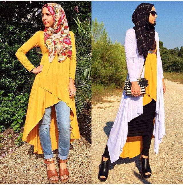 A modern hijabi