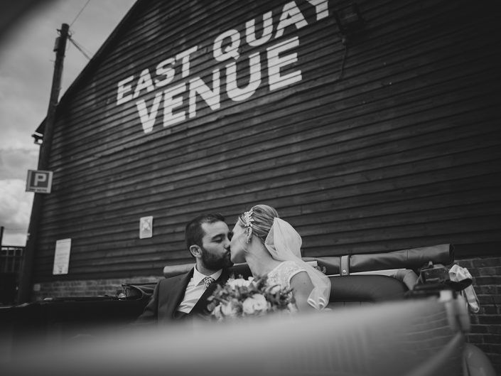 Daniela & Luke's epic wedding at East Quay Venue now on the blog!