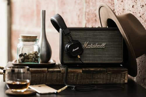 jackthreads:Marshall Speakers and Headphones on Jack Threads