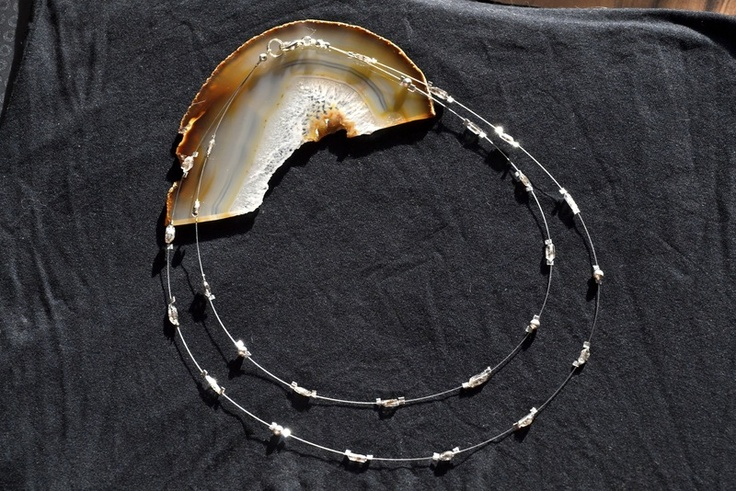 Herkimer-Diamant Kette