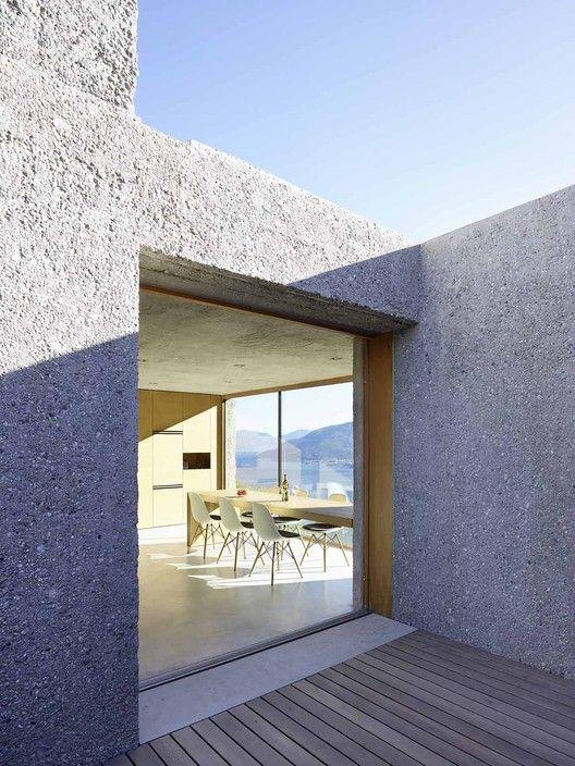 Casa en Brissago,© Hannes Henz