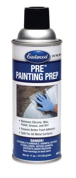 Pre Painting Prep Aerosol 11 oz - Grease Remover - Dirt Removal - Eastwood