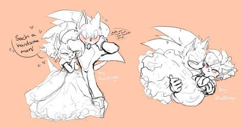 sonamy wedding by thatAnge | Sonic and amySonic And Amy Wedding Naruto
