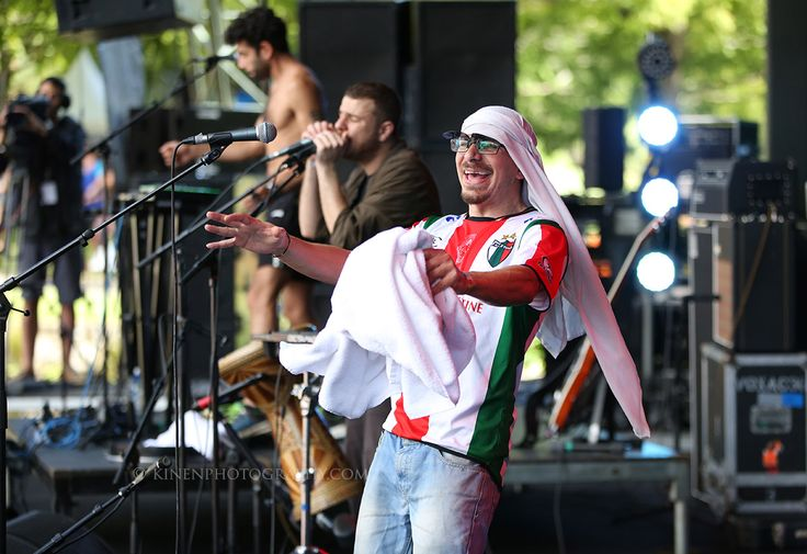 47 Soul (Palestine/Jordan/Syria) perform at WOMADNZ 2016
