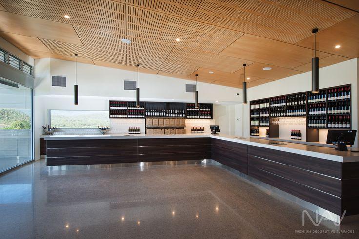 Tasting Area. Navurban™ Windsor. Designer: M G Design & Building Pty Ltd Photography: Matthew Mallet Photography Builder: Bright Alpine Builders Pty Ltd Joinery: Wilko Cabinets