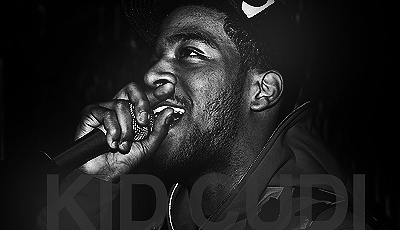 """Kid Cudi:  When I listen to his music, it helps me mellow out and relax. Favorite Song: """"Pursuit of Happiness"""""""